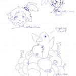 Etna. Hanako et un prinny